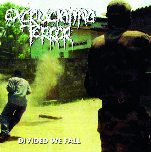 Excruciating Terror ‎– Divided We Fall LP - Grindpromotion Records