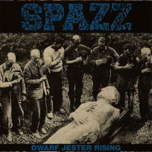 Spazz ‎– Dwarf Jester Rising LP (White/Purple Splatter Vinyl)