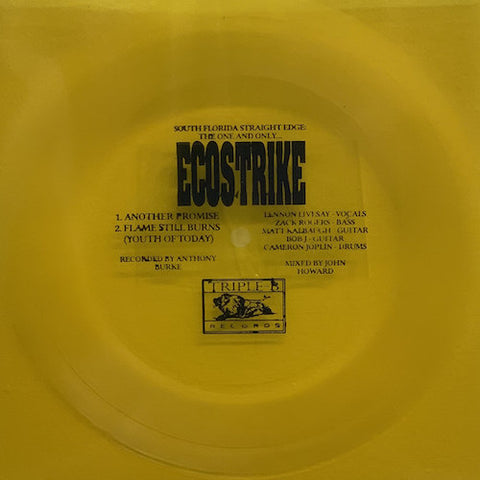 "Ecostrike ‎– Another Promise 7"" (Flexi Vinyl)"