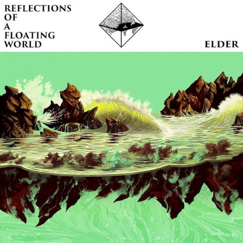 Elder ‎– Reflections Of A Floating World 2XLP (Ultra-Clear/Coke Bottle Split Vinyl) - Grindpromotion Records