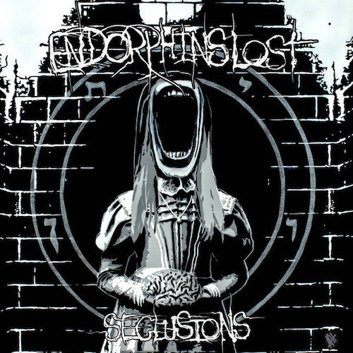 Endorphins Lost ‎– Seclusions LP (White w/Red Splatter Vinyl) [Scene Support Verison] Limited 75 Copies - Grindpromotion Records