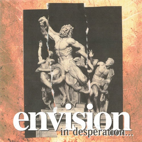 Envision ‎– In Desperation... LP - Grindpromotion Records