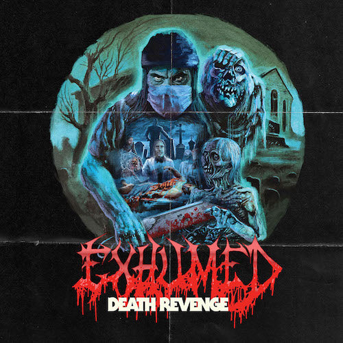 Exhumed - Death Revenge LP - Grindpromotion Records