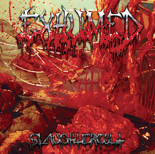 Exhumed ‎– Slaughtercult 2XLP (Orange Splatter Vinyl) - Grindpromotion Records