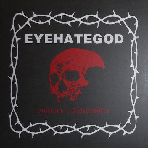 EyeHateGod ‎– Southern Discomfort LP (Clear with Red and Black Splatter )
