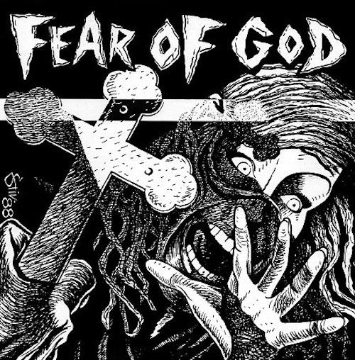 Fear Of God ‎– Fear Of God LP (Clear Vinyl) - Grindpromotion Records