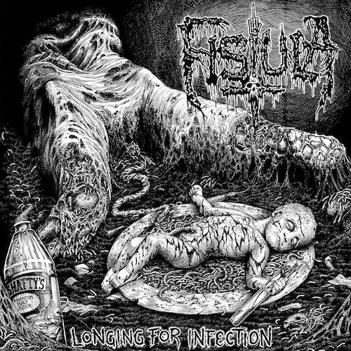 "Fistula - Longing For Infection: Rustbelt Remaster LP+7"" (White Vinyl) - Grindpromotion Records"