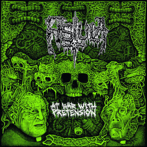 Fistula / Junkov•en ‎– At War With Pretension / Junkov•en LP