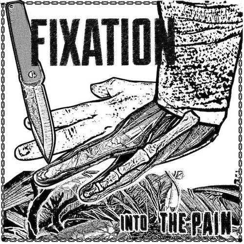 "Fixation ‎– Into The Pain 7"" Flexi - Grindpromotion Records"