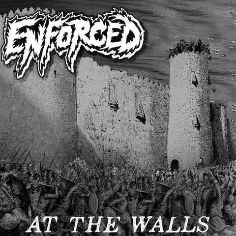 Enforced - At The Walls LP (Clear w/ Smoke Vinyl)