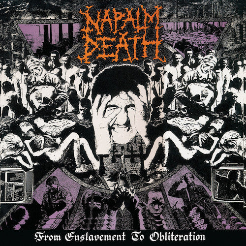 Napalm Death ‎– From Enslavement To Obliteration LP