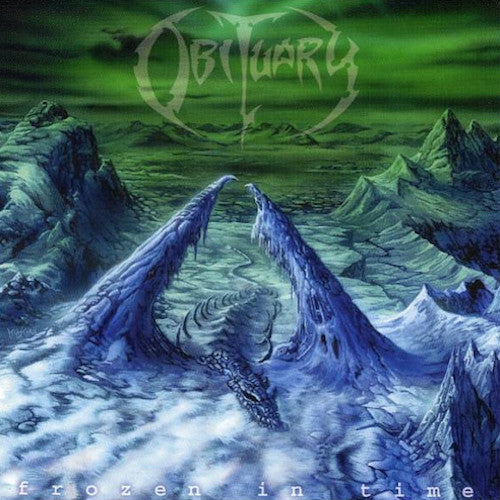 Obituary ‎– Frozen In Time LP - Grindpromotion Records