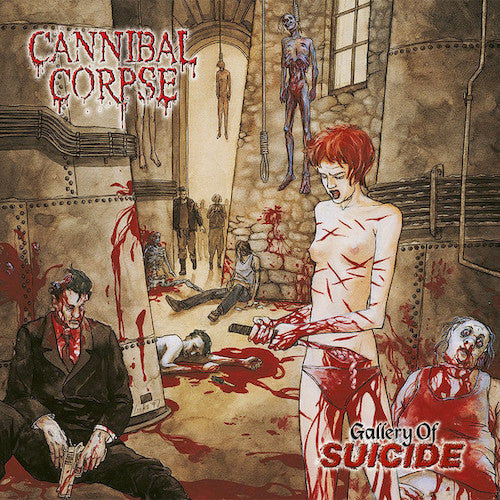 Cannibal Corpse ‎– Gallery Of Suicide LP (180g Vinyl) - Grindpromotion Records