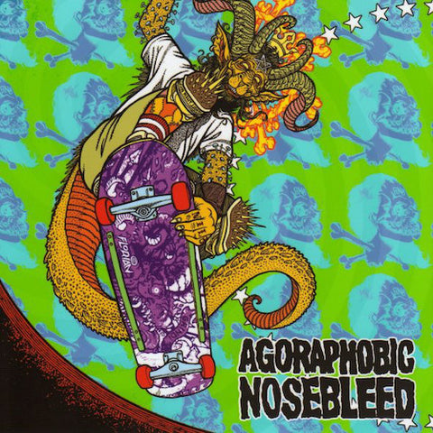 Agoraphobic Nosebleed / Total Fucking Destruction ‎– Frontside Nosegrind 7""