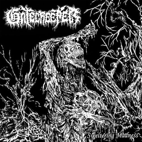 "Gatecreeper ‎– Sweltering Madness 7"" (Clear W/ Splatter Vinyl) - Grindpromotion Records"