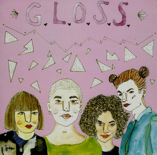 "G.L.O.S.S. ‎– Girls Living Outside Society's Shit 7"" - Grindpromotion Records"