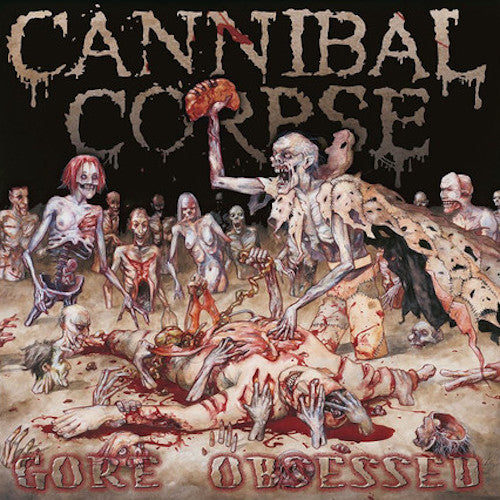 Cannibal Corpse ‎– Gore Obsessed LP - Grindpromotion Records