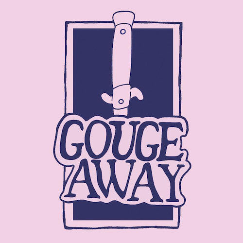 "Gouge Away ‎– Swallow b/w Sweat 7"" (Purple Marble Vinyl) - Grindpromotion Records"