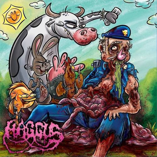 Haggus ‎– Gore Gore...And More Gore LP - Grindpromotion Records