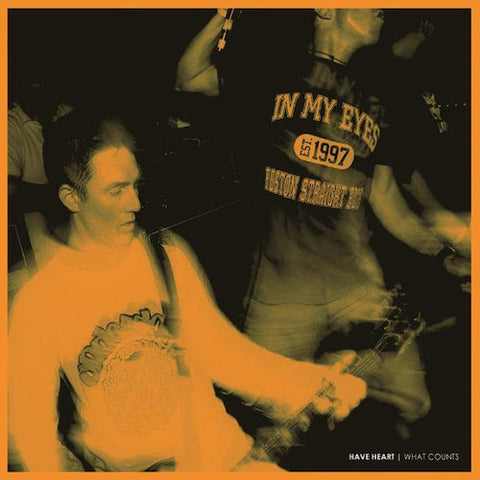 Have Heart ‎– What Counts LP (Orange)