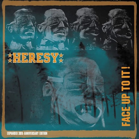 Heresy ‎– Face Up To It! (Expanded 30th Anniversary Edition, 2XLP+CD)