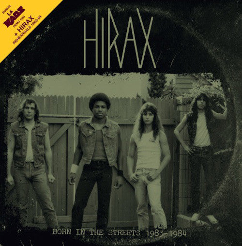 Hirax ‎– Born In The Streets 1983-1984 LP - Grindpromotion Records