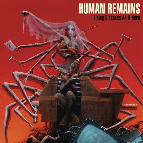 Human Remains ‎– Using Sickness As A Hero LP - Grindpromotion Records