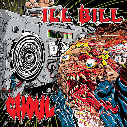 "Ghoul / Ill Bill -  Ghoul / Ill Bill 7"" (Red Vinyl) - Grindpromotion Records"