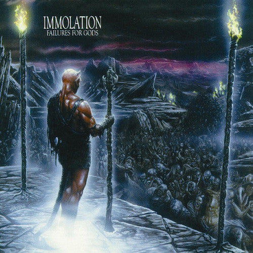 Immolation ‎– Failures For Gods LP - Grindpromotion Records