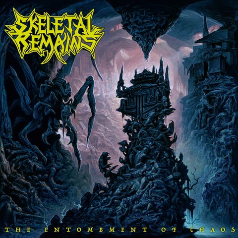 SKELETAL REMAINS - THE ENTOMBMENT OF CHAOS LP+CD