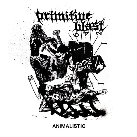 PRIMITIVE BLAST - ANIMALISTIC LP
