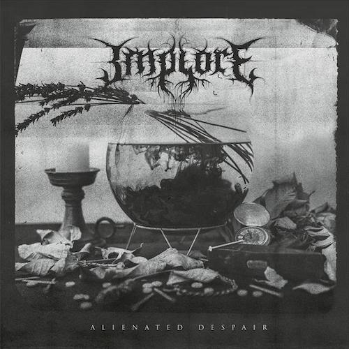 Implore - Alienated Despair LP - Grindpromotion Records