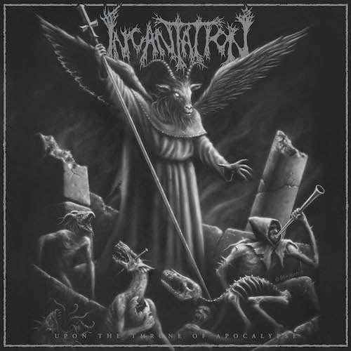 Incantation - Upon the Throne of Apocalypse LP - Grindpromotion Records