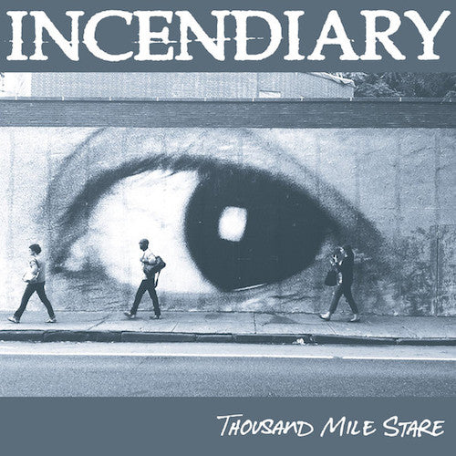 Incendiary ‎– Thousand Mile Stare LP (White Clear w/ Black Splatter Vinyl)