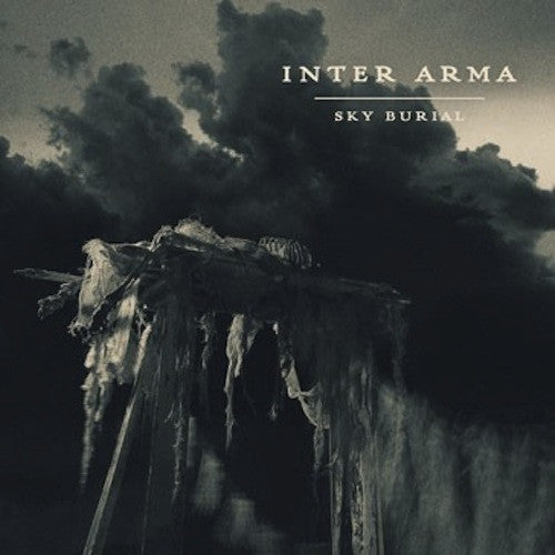 Inter Arma ‎– Sky Burial 2XLP (Aqua Blue / White Vinyl) - Grindpromotion Records