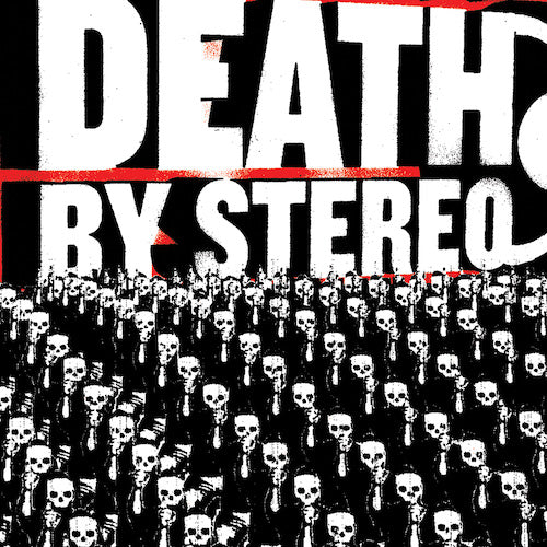 Death By Stereo ‎– Into The Valley Of Death LP (Red w/ Black Swirl) - Grindpromotion Records