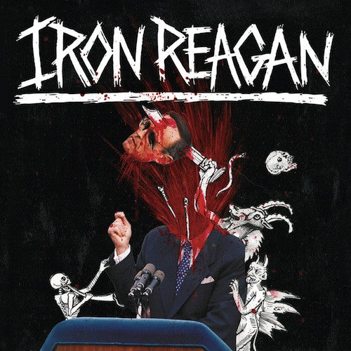 Iron Reagan - The Tyranny Of Will LP - Grindpromotion Records