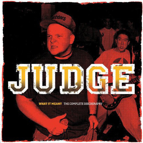 Judge ‎– What It Meant - The Complete Discography 2XLP (Blue Vinyl) - Grindpromotion Records