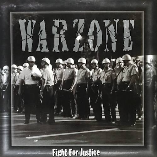 Warzone – Fight For Justice LP - Grindpromotion Records