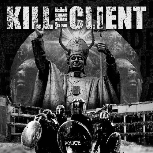 Kill The Client / Feastem ‎– Kill The Client / Feastem LP (White Vinyl) - Grindpromotion Records