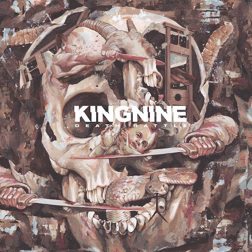 King Nine ‎– Death Rattle LP (Piss Splatter Vinyl)