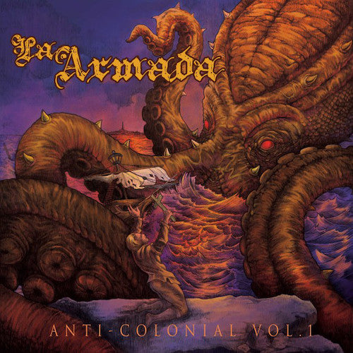 La Armada ‎– Anti-Colonial Vol. 1 LP - Grindpromotion Records