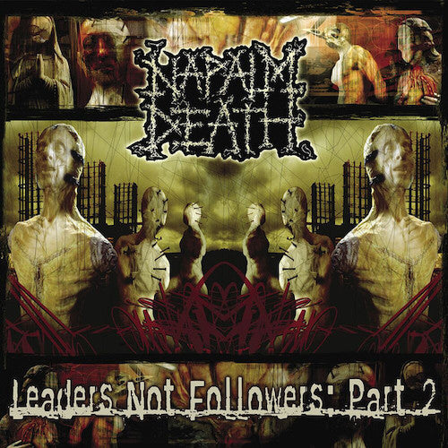 Napalm Death ‎– Leaders Not Followers: Part 2 LP - Grindpromotion Records