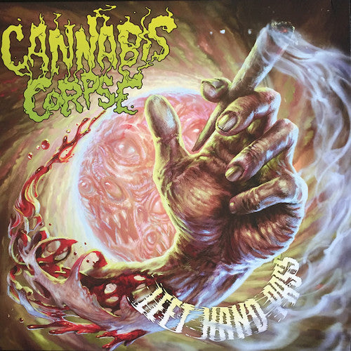Cannabis Corpse ‎– Left Hand Pass LP - Grindpromotion Records