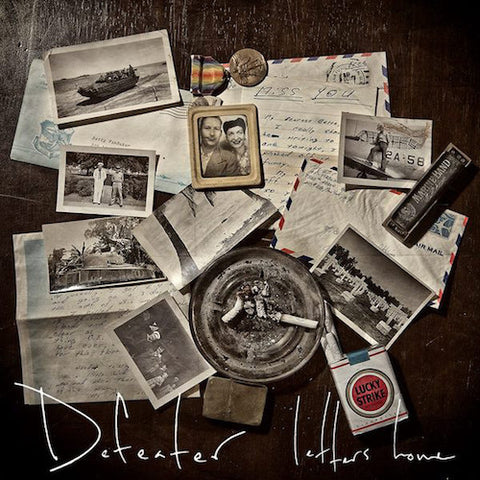 Defeater ‎– Letters Home LP (Red & Black Vinyl)