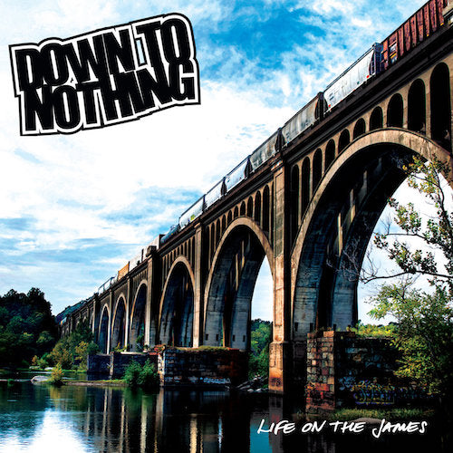 Down To Nothing ‎– Life On The James LP (Transparent Green Vinyl) - Grindpromotion Records