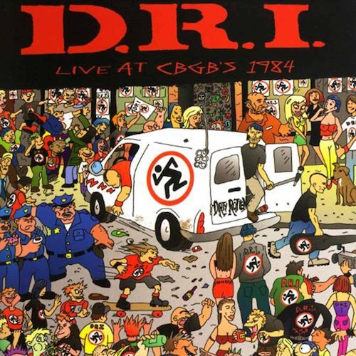 D.R.I. ‎– Live At CBGB's 1984 LP - Grindpromotion Records