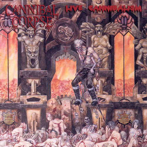 Cannibal Corpse ‎– Live Cannibalism 2XLP - Grindpromotion Records