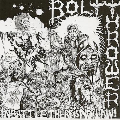 Bolt Thrower ‎– In Battle There Is No Law LP