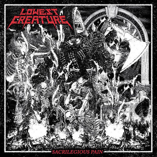 Lowest Creature ‎– Sacrilegious Pain LP - Grindpromotion Records
